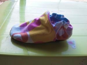 Les ballerines / chaussons dans COuture Enfants chausson-300x225